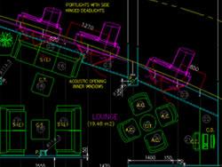 CADで各種装備品・施工図を作成